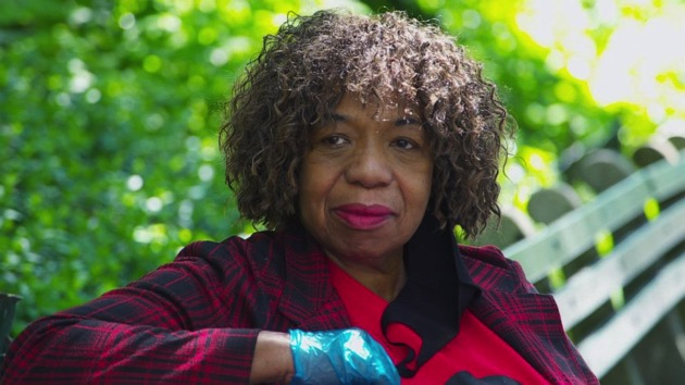 Gwen Carr, whose son Eric Garner died during an arrest in 2014 in New York, speaks to ABC News about George Floyd, an unarmed black man who died in police custody on May 25, 2020. - (ABC News)