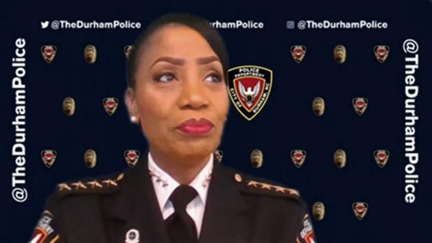 "Durham, N.C., Police Chief Cerlelyn ""CJ"" Davis appears on ""Good Morning America"" on June 3, 2020. - (ABC News)"