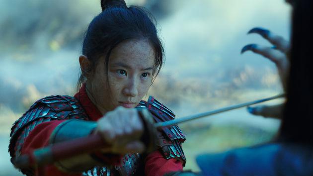 Liu Yifei as Mulan/© 2019 Disney Enterprises, Inc. All Rights Reserved.