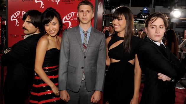 L-R: Schwartzman, Wong, Cera, Plaza, Culkin -- Kevin Winter/Getty Images