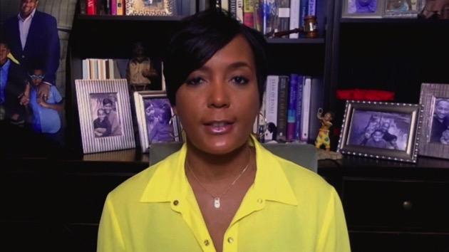 "Atlanta Mayor Keisha Lance Bottoms appears on ""Good Morning America,"" July 7, 2020. - (ABC News)"