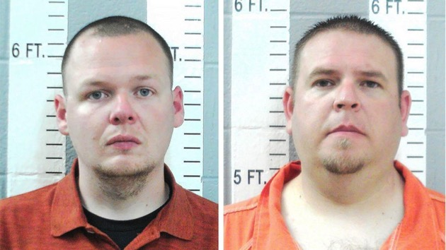 Left, Joshua Taylor, 25, and Brandon Dingman, 34, of the Wilson Police Department in Oklahoma, is charged in connection to the second-degree murder of Jared Lakey. - (Oklahoma State Bureau of Investigation)