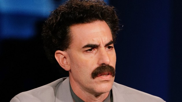 Borat hilariously defends Rudy Giuliani after controversial scene