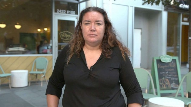 Luciana Gomez, a cafe owner in Dallas. (ABC News)