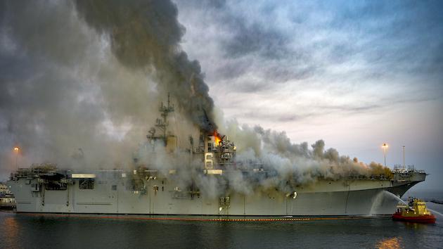 Mass Communication Specialist 2nd Class Austin Haist/U.S. Navy via Getty Images