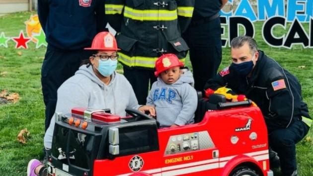 Mitchell Fallis/Lorain Fire Department