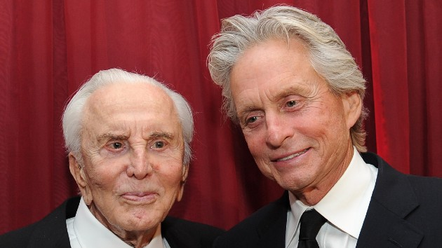 L-R - Kirk and Michael Douglas in 2011 -- Michael Buckner/Getty Images