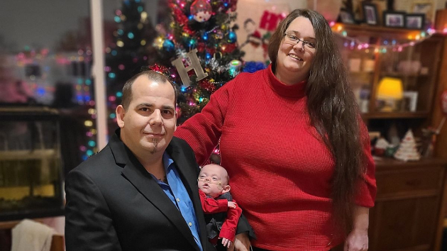 (Courtesy Elizabeth and Rick Hutchinson) Richard Hutchinson is home for the holidays after spending six months fighting for his life at Children's Minnesota hospital in Minneapolis.