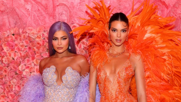 L-R Kylie, Kendall Jenner -- Kevin Tachman/MG19/Getty Images for The Met Museum/Vogue