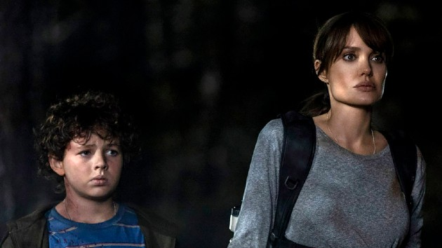 """Finn Little, Jolie in """"Those Who Wish Me Dead"""" -- Warner Bros. Pictures/HBO Max"""
