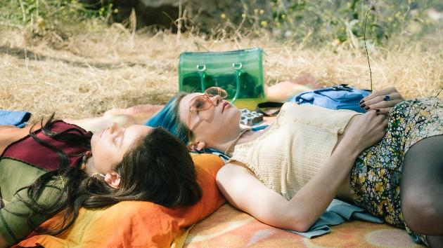 Tiffany Roohani (Jessica Barden and Odeya Rush in MTV Entertainment Studios' Pink Skies Ahead)