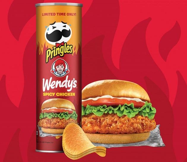 Pringles x Wendy's