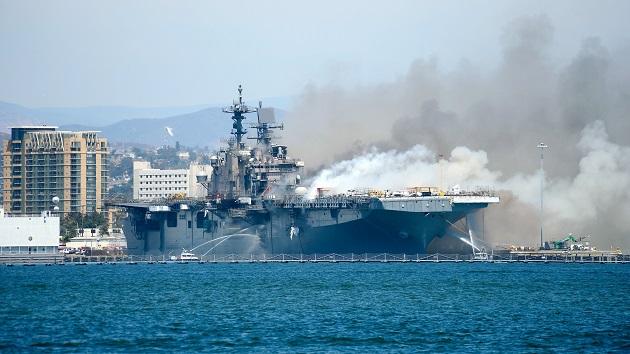 Lt. John J. Mike/U.S. Navy via Getty Images