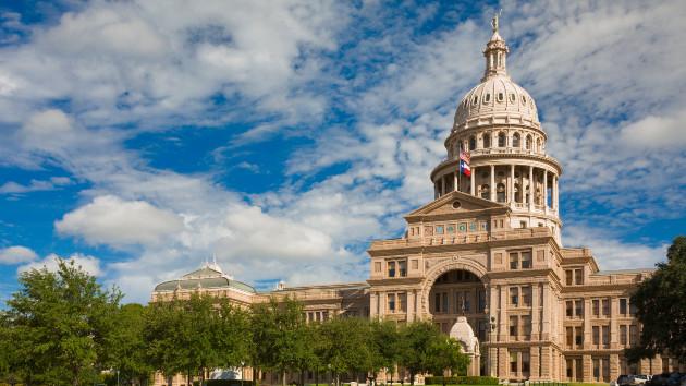 Texas State Capitol in Austin, TX (Credit: dszc/iStock)